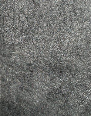 Argento boiserie - luxury leather tiles by Tactile Leather